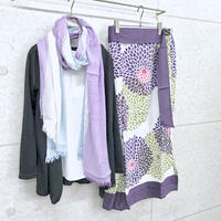 浴衣スカート(大輪菊)