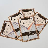 西郷どん チェスト!ポストカード(5枚セット)