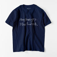 Stay hungry Tシャツ(11color XS/S/M/L/XL/XXL)