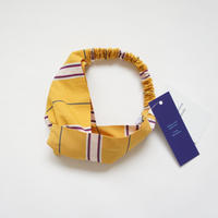 Hair Band (yellow stripe) / Christina Rohde