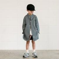 Organic Check Long Shirts / MOUN TEN.