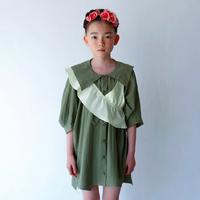 Acne Shirts (khaki green) L size / folkmade