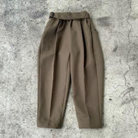 Stretch Twill Pants (khaki) / MOUN TEN.