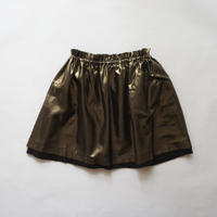 TONIA skirt + pocket (bronze) / treehouse