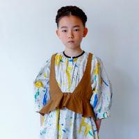 Flare Vest (M size) / folkmade