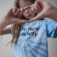 TNS Tee Deep Blue Tie Dye / the new society