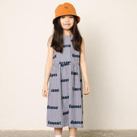 Woven Desert Dress (blue gingham) /  wynken