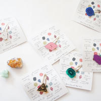 Birth Stone Hair Pins / ATSUYO et AKIKO