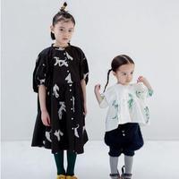 Afghan Hound Dress (black)  / folkmade