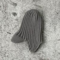 Knit Flight Cap (sage) / MOUN TEN.