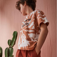 TNS Tee Caramel Tie Dye / the new society