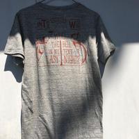 ツーリングとテントのTシャツ
