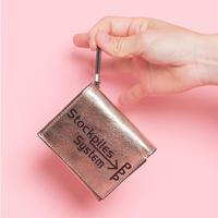 【受付終了】TRI-fold wallet PPP champagne