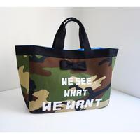 【再入荷】town mini camouflage logotip