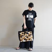 新作 adjust strap tote grossy brown