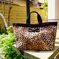【春夏新作】town mini intoxic. original textile leopard
