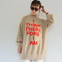 【受付終了】thomas magpie long knit Beige(2204718)