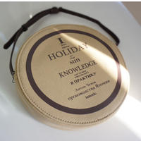 【新作】HOLIDAY EP record cross carry brown