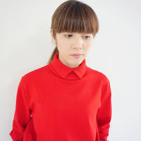 【受付終了】thomas magpie layered knit red(2204711)