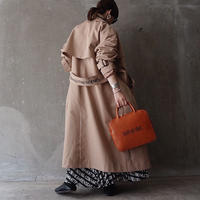 予約終了【先行予約】thomas magpie trench coat beige(2194211)