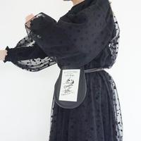【受付終了】SUM belt noir