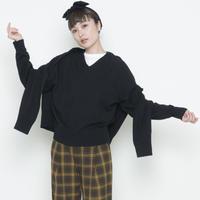 【受付終了】thomas magpie twin knit black(2204716)