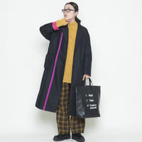 【受付終了】thomas magpie line coat black(2204207)