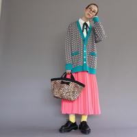 marche mini intoxic. original textile leopard