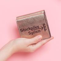 【受付終了】BI-fold wallet PPP champagne