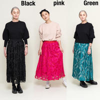 【受付終了】thomas magpie flocky skirt(2203603)