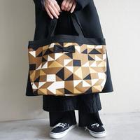 basic tote glossy brown
