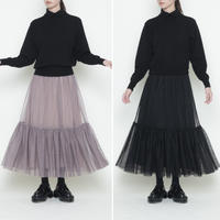 【受付終了】thomas magpie tulle layered skirt(2204613)