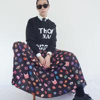 thomas  magpie pullover logo knit(2211701)【受付終了:3月お届け】