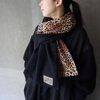 big stole  beaver black original leopard