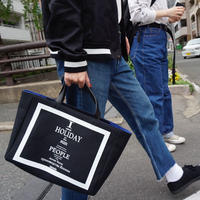 【先行予約】HOLIDAY daily tote black