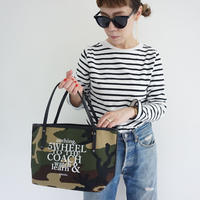 holiday tote S camouflage logotip