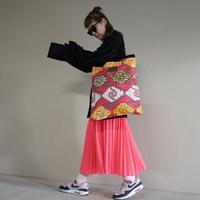 【オンラインストア限定】afrotek big tote pink(B)