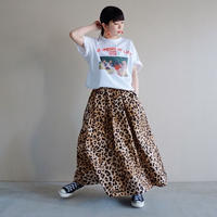 【予約終了】thomas magpie long skirt leopard