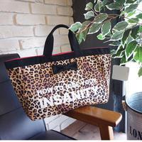 town mini intoxic. original textile leopard logotip