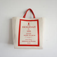 【完売】HOLIDAY LP record tote red