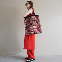 【オンライン限定】afrotek big tote red(E)