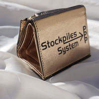 TRI-fold wallet PPP champagne