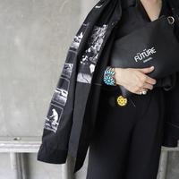 【新作】leather pouch-FUTURE-