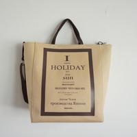 【新作】 HOLIDAY LP recordtote brown