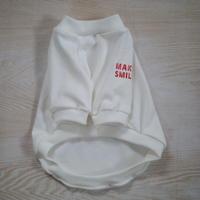 MAKE SMILE  Tシャツ(白)