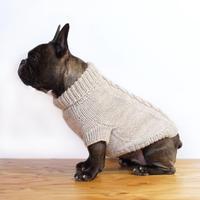 ケーブル模様のセーター(象牙色 ) /  Knit Pullover *Cable Pattern (Ivory)