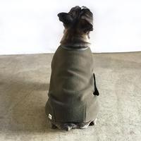 冬の家衣 (蓬色)/  Fleece  Body Warmer (Olive)