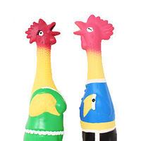 イタリアからやってきた犬のおもちゃ(鶏)(L)