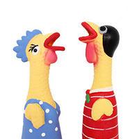 イタリアからやってきた犬のおもちゃ(鶏)(S)