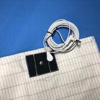 アーシング枕カバー綿タイプ 専用アースコード+ワニコード+アースアダプターセット